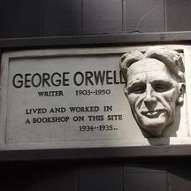 George Orwell - Hampstead